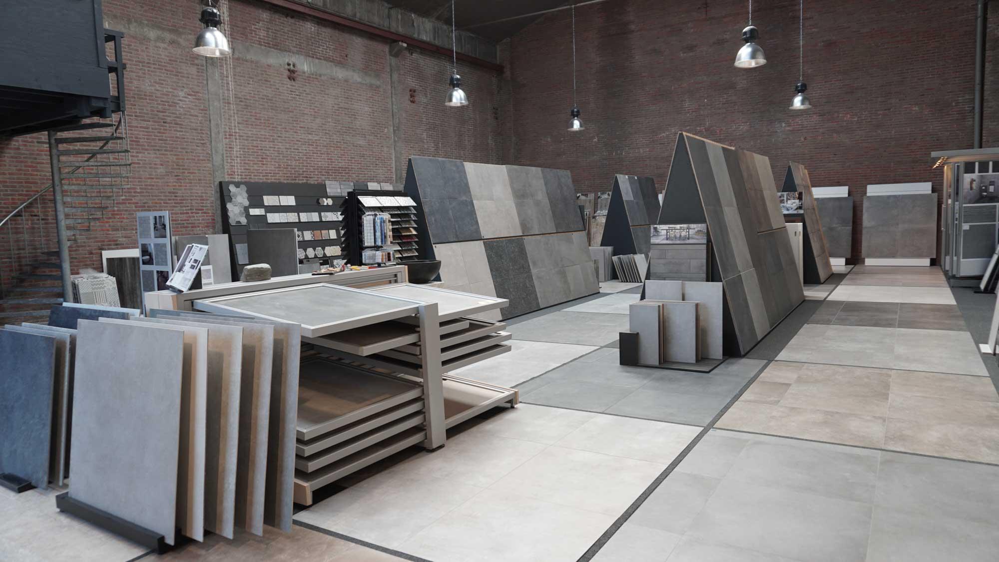 De Showroom van Tegel en Natuursteen Brabant